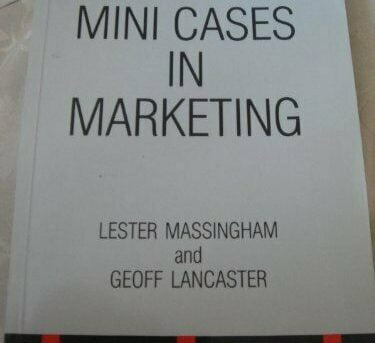Mini Cases in Marketing (Marketing Series: Stud... by Lancaster, Geoff Paperback