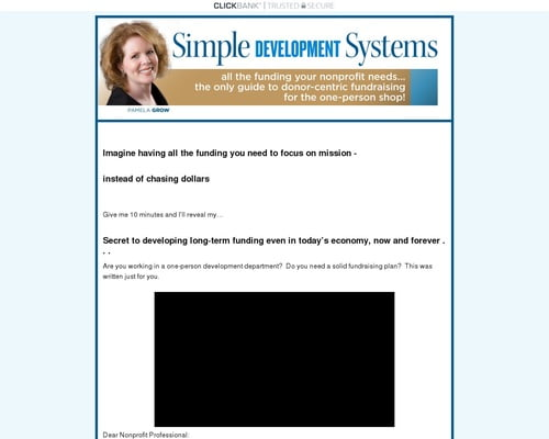 Simple Development Systems Fundraising