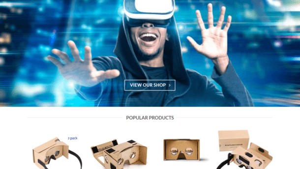 Virtual Reality Website Business - Earn $449 A SALE. Free Domain|Hosting|Traffic