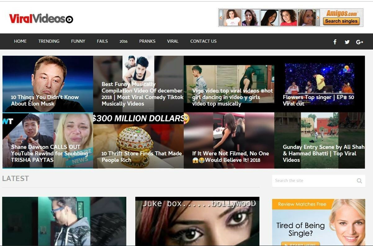 100% Fully Automated VIRALVIDS Website, Auto-Updated Daily-Very Profitable Niche