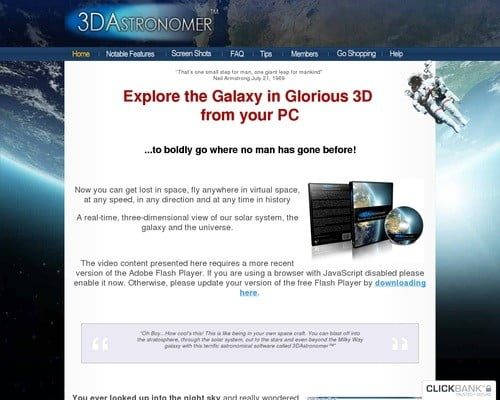 3D Astronomer | Good To SEO