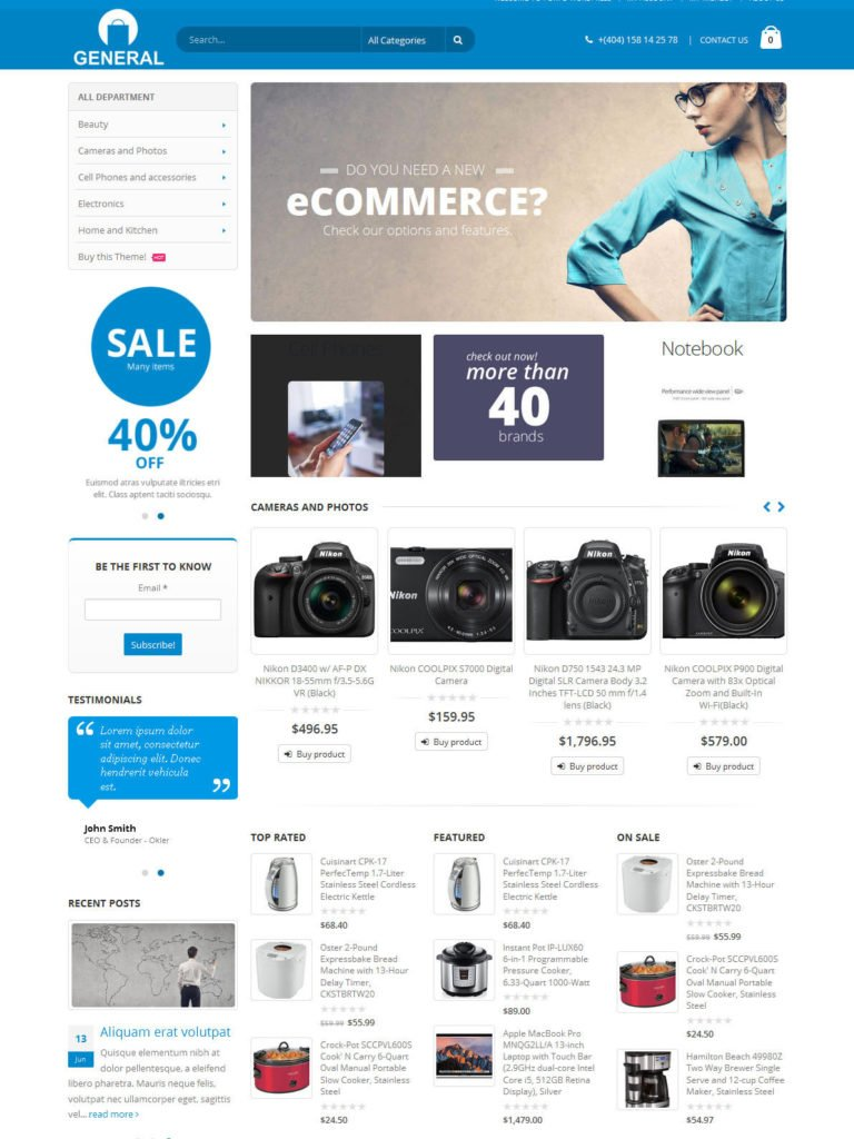 All In One: Amazon, eBay, Aliexpress & Evento market Affiliate Website For Sale