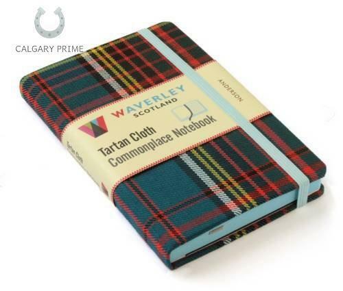 Anderson: Waverley Genuine Tartan Cloth Commonplace Notebook (Waverley Scotland