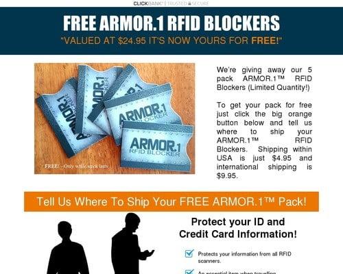 Armor.1 Rfid Blocker