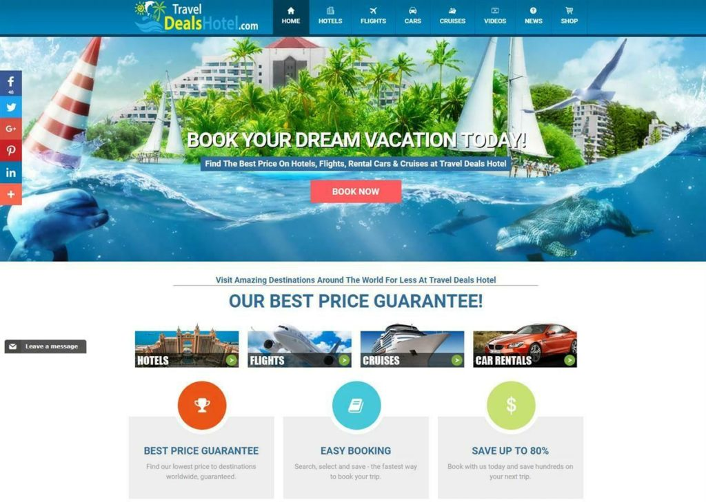 Automated Travel Website Creation For Passive Income Streams (Bronze Package)