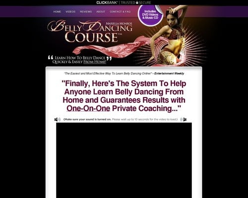Belly Dancing Course(tm):*top Belly Dancing Class On Cb* $65/sale!