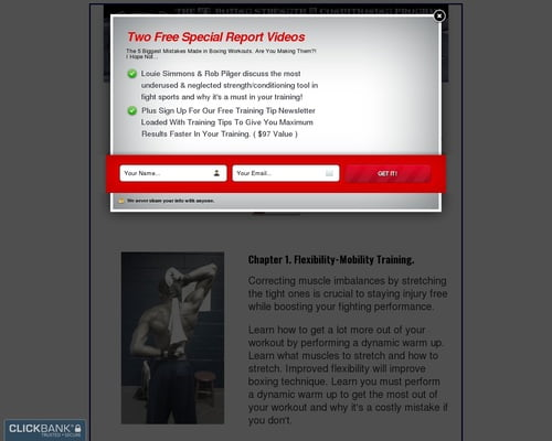 Boxing Strength, Body Composition, Ectomorph, Ko power, Speed training Secrets Finally Revealed