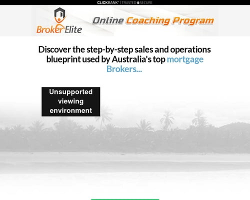 Broker Elite Online Coaching Program