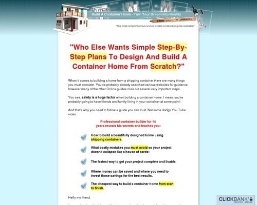Build A Container Home