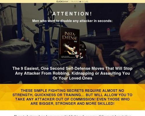 Clickbank Landing   Insta Self Defense