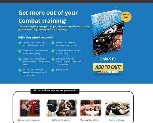 Combat Sports Nutrition