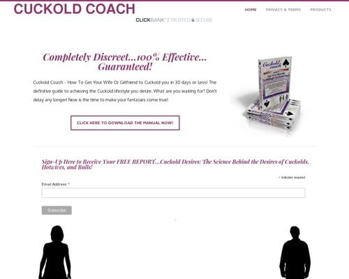 Cuckold Coach - Get your wife to cuckold you.