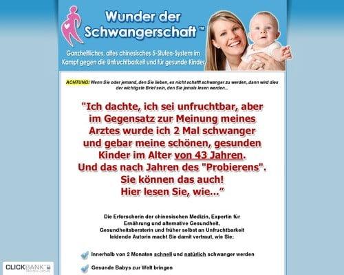 Das Wunder der Schwangerschaft - Auf natürlichem Weg die Unfruchtbarkeit heilen und schwanger werden