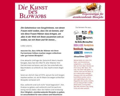 Die Kunst des Blowjobs: Expertentipps f? atemberaubende Blowjobs (Fellatio)
