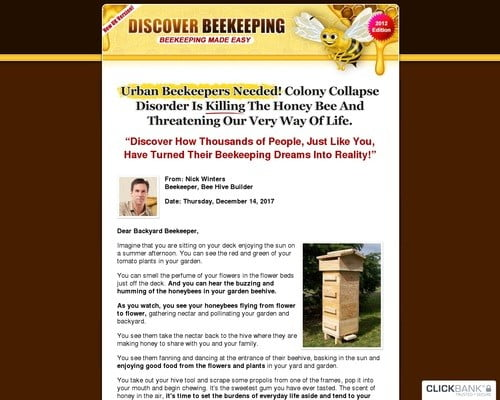 Discover Beekeeping - A Beginner Beekeepers Guide