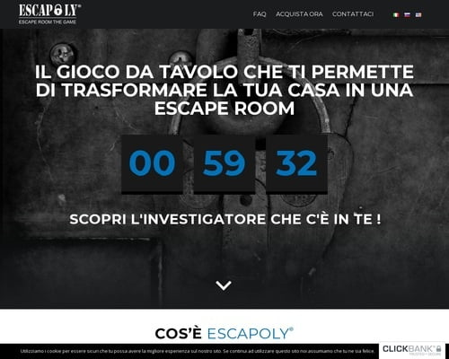 Escapoly - Escape Room The Game