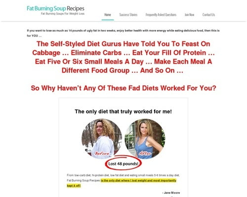 Fat Burning Soup Diet   Fat Burning Soups For Weight Loss