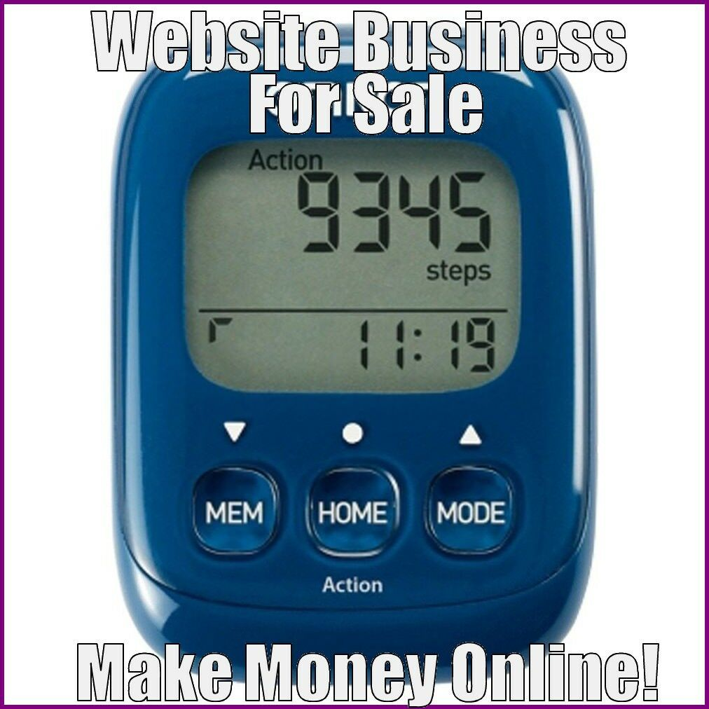 Fully Stocked PEDOMETERS Website Business|FREE Domain|FREE Hosting|FREE Traffic