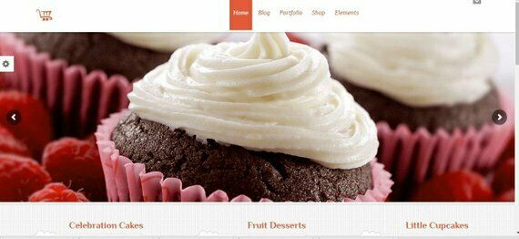 Gorgeous, Functional and Google-friendly Bakery Website Web Design
