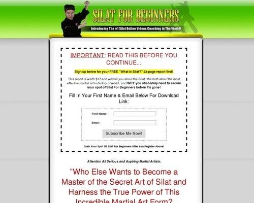 Guru Nizam's Silat For Beginners Video Tutorials Series!