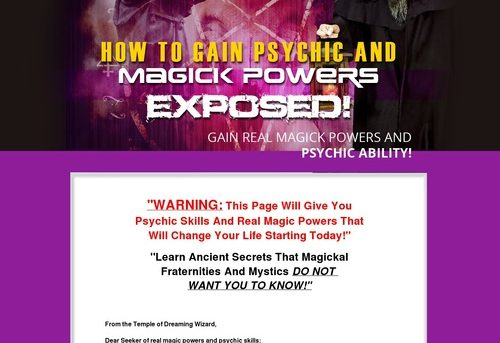 How to learn magic powers Get magical powers Real magic powers