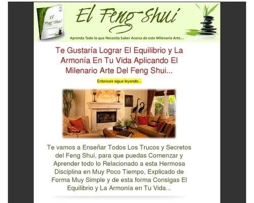 Libro Sobre El Feng Shui