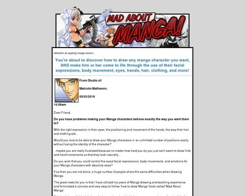 Mad About Manga | Learn How To Draw Manga Characters