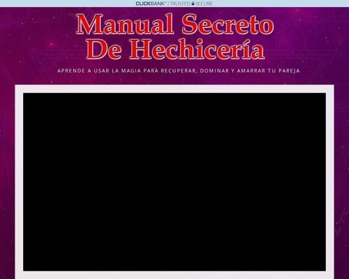 Manual Secreto De Hechiceria - Url Adaptable A Cualquier Dispositivo