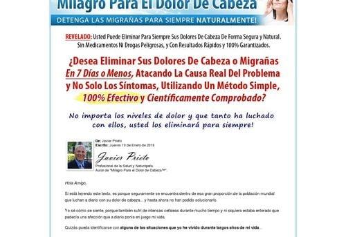 Milagro Para el Dolor de Cabeza™ | Detenga las Migrañas Para Siempre Naturalmente!