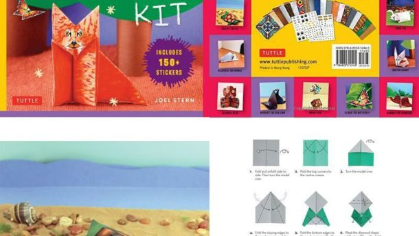 My First Origami Kit: [Origami Kit With Book, 60 Papers, 150 Stickers, 20 Projec