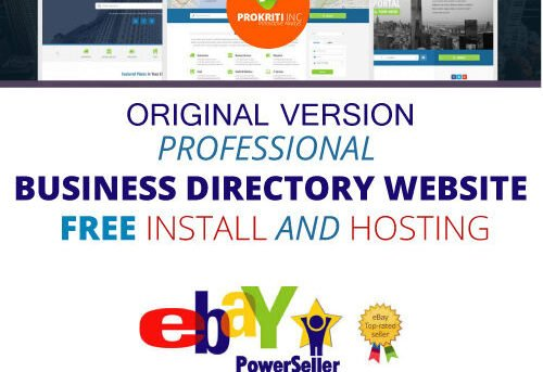 Original ⚡ Directory Website ▶Earn Recurring Passive Income◀FREE hosting-Install
