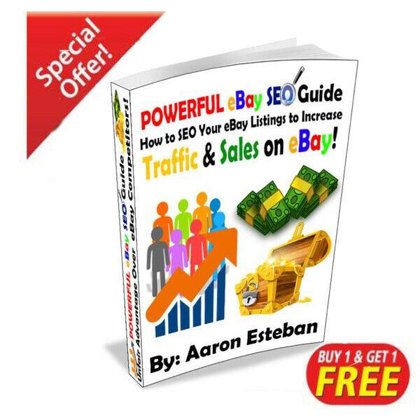 POWERFUL eBay SEO Guide   PDF ebook