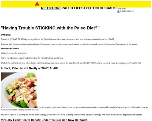 Paleohacks Cookbooks + Primal Sleep, 4 Products, Crazy Conversions