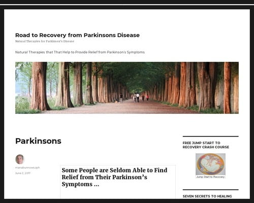 Parkinsons – Road to Recovery from Parkinsons Disease