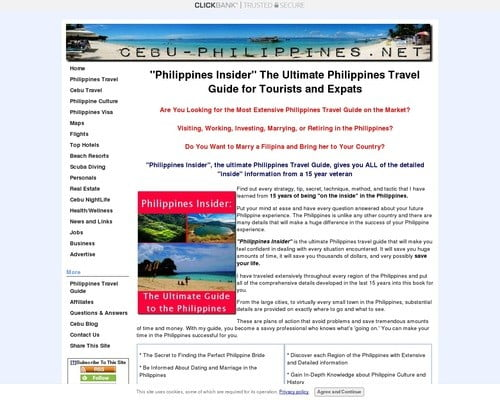 """Philippines Travel Guide - """"Philippines Insider"""" the Ultimate Guide"""