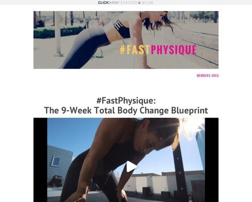 #PhysiqueFinishers Info | Fast Physique