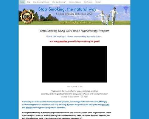 Quit Smoking Hypnosis - Our Proven Audio System is 100% Guaranteed!