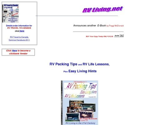 Rv Packing Tips, Ebook(r.