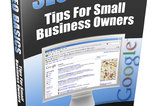 SEO Basics - Tips For Small Business Owners PDF eBook+Master Resell Right
