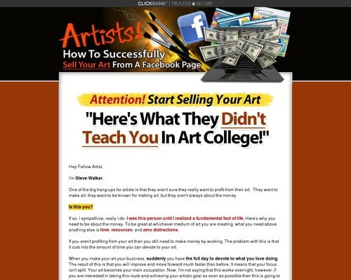 Selling Art Made Easy