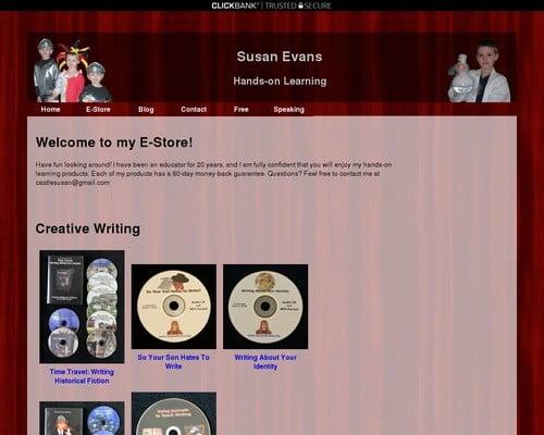 Susan C. Evans   Hands-on Learning