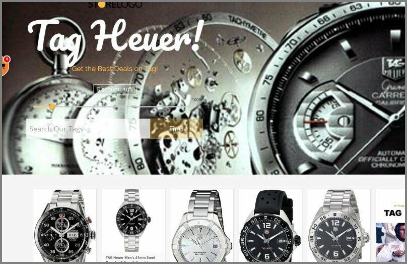 TAG HEUER WATCH Website|$599.97 A SALE|FREE Domain|FREE Hosting|FREE Traffic