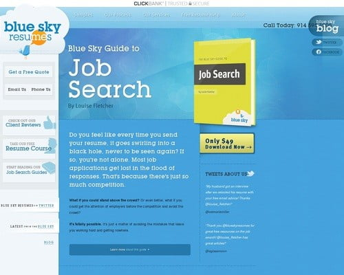 The Blue Sky Guide To Job Search