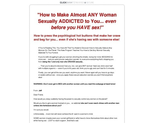 The Secrets of How to Make a Woman Sexually Addicted to You