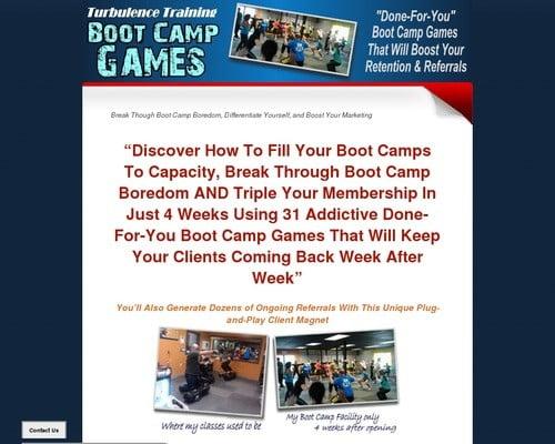Tt Boot Camp Games