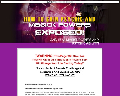 How to learn magic powers Get magical powers Real magic