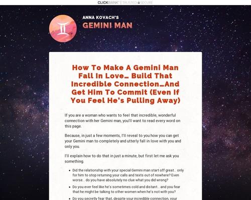 Gemini Man Secrets | Good To SEO