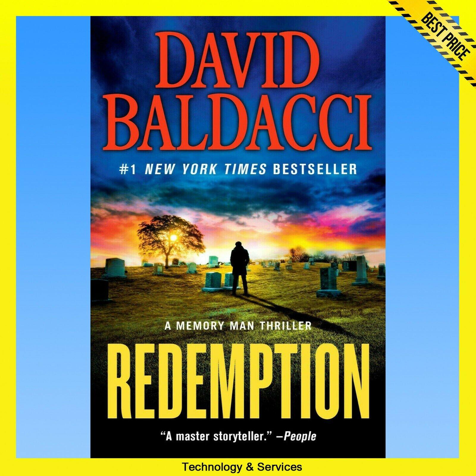 ✅ Redemption ✅ By David Baldacci  ✅ E-BOOK