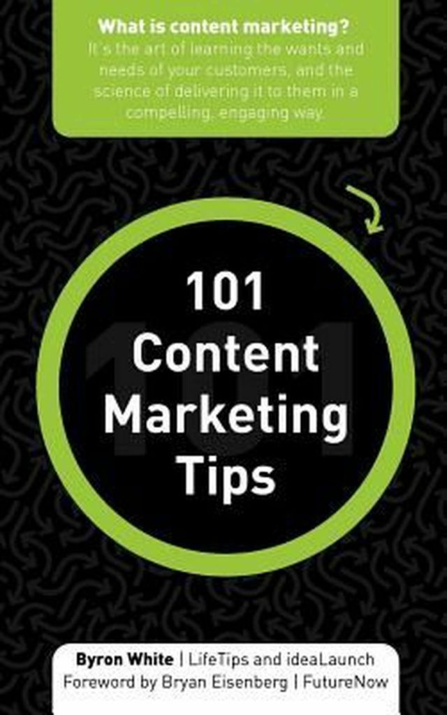 101 Content Marketing Tips by Byron White (English) Paperback Book Free Shipping