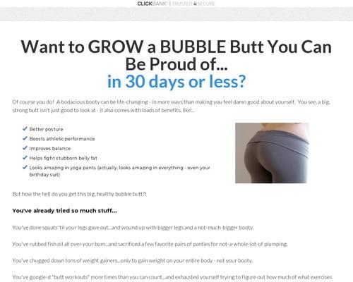 30/30 Bubble Butt